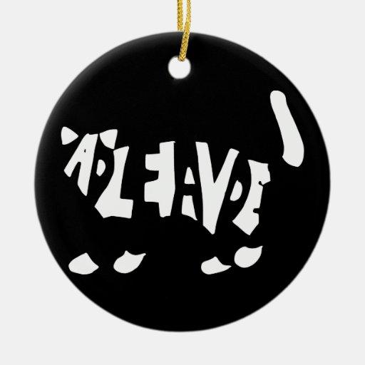 Schrödingers Katze Ornament
