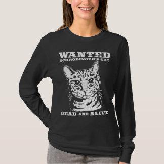 Schrodingers Katze wollten Tote oder lebendiges T-Shirt