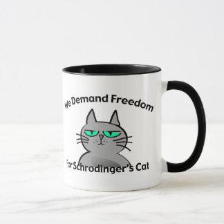 Schrodingers Katzelustiger Geek-Spaß Tasse