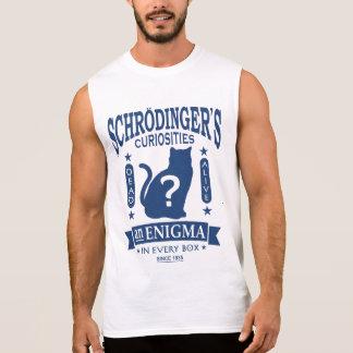 Schrodingers Katzen-tote oder lebendige Ärmelloses Shirt