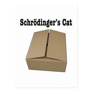 Schrodingers Katzenklo Postkarte