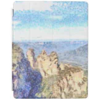 Schroffe und schöne Berge iPad Hülle