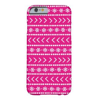 Schroffer Schnetelefonkasten - Pink Barely There iPhone 6 Hülle