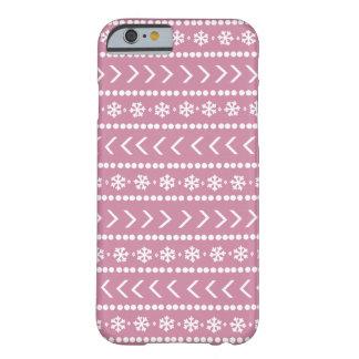 Schroffer Schnetelefonkasten - Rosa Barely There iPhone 6 Hülle