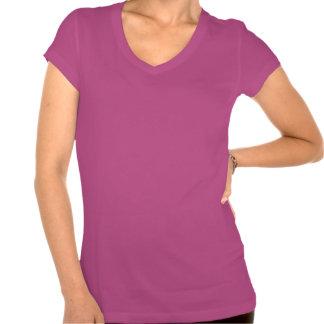Schrullig behalten Sie ruhige Oberseite - unten T Hemden