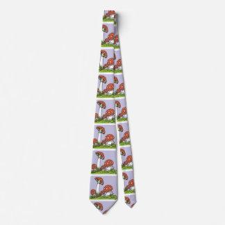 Schrullige Pilz-Krawatte Personalisierte Krawatte