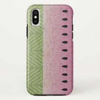 Schrullige Wassermelone stark iPhone X Hülle