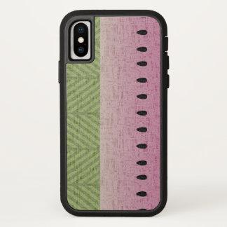 Schrullige Wassermelone starkes Xtreme iPhone X Hülle