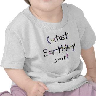 Schrulliger niedlichster Erdenbürger schon! Lila p T-Shirts