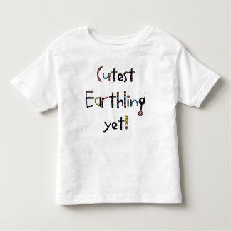 Schrulliger niedlichster Erdenbürger schon! Rotes T-shirt