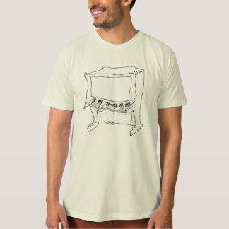 Schrulliges aufrechtes Klavier-Shirt Shirt