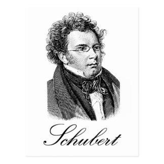 Schubert Postkarte