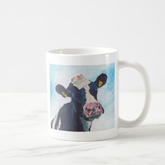 Schüchtern Sie keine irische friesische Kuh 01. Kaffeetasse