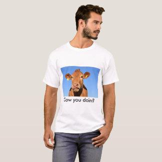 Schüchtern Sie Sie doin T-Shirt ein