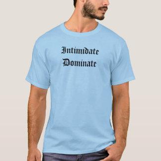 Schüchtern Sie vorherrschen ein T-Shirt