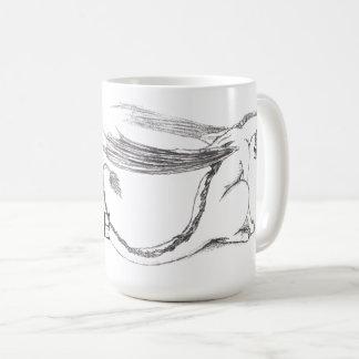Schüchterne Drache-Tasse Kaffeetasse