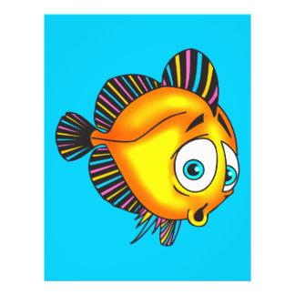 Schüchterne Fische 21,6 X 27,9 Cm Flyer