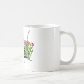 Schüchterner Junge Kaffeetasse