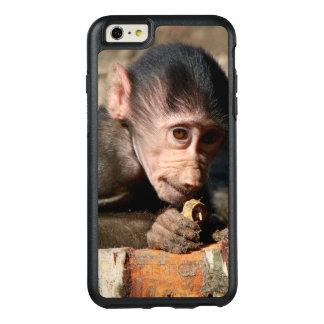 Schüchterner junger männlicher Hamadryas Pavian OtterBox iPhone 6/6s Plus Hülle