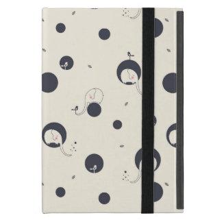 Schüchternes Elefant-Muster Etui Fürs iPad Mini