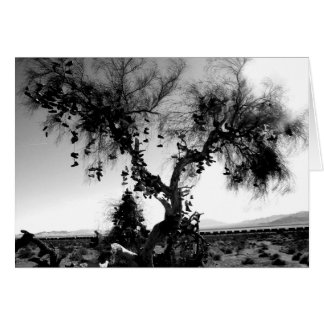 Schuh-Baum Karte