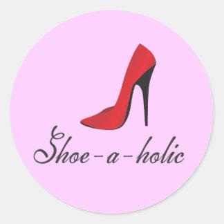 Schuh-ein-holic Aufkleber