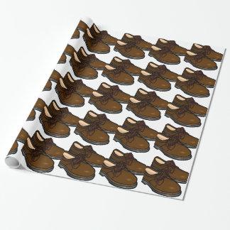 Schuh Geschenkpapier