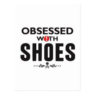 Schuhe besessen gewesen postkarte