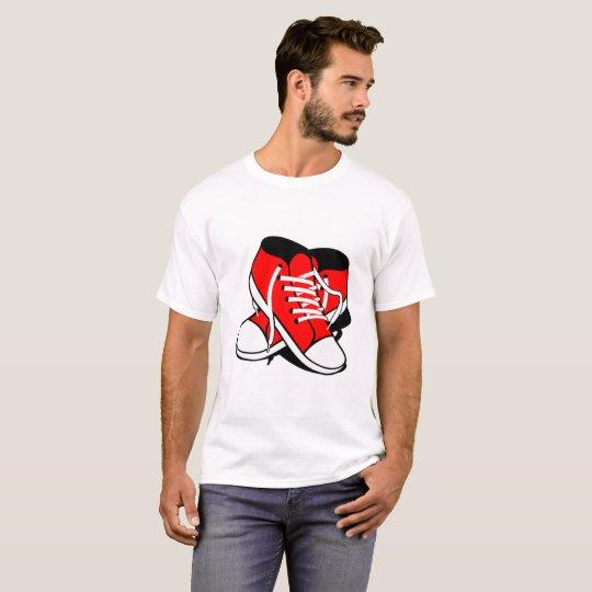 Schuhe Chuck Sneaker T-Shirt