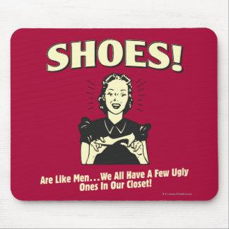Schuhe: Seien Sie wie Männer Mauspad