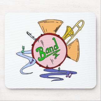 SchulBand-Logo-Musikinstrument-Musiker Mousepads