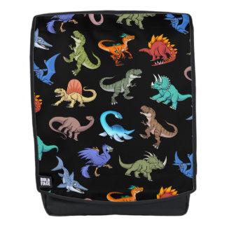 Schulbedarf des Dinosaurier-Regenbogen-II Rucksack