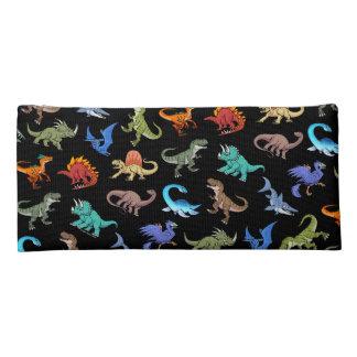 Schulbedarf des Dinosaurier-Regenbogen-II Stiftetasche