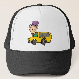 Schulbus-Fahrer Truckerkappe
