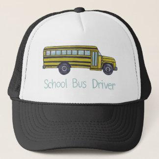 Schulbus-Fahrerhut Truckerkappe