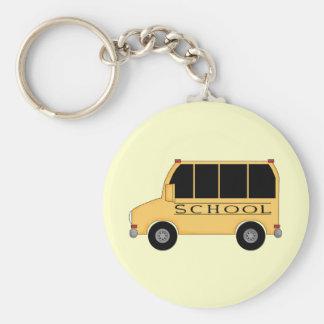 Schulbus Schlüsselanhänger