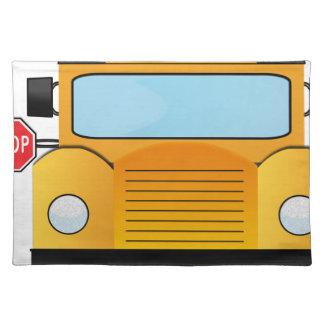 Schulbus Tischset