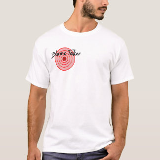 Schuld-Abnehmer-Shirt 2 mit Seiten versehen (des T-Shirt