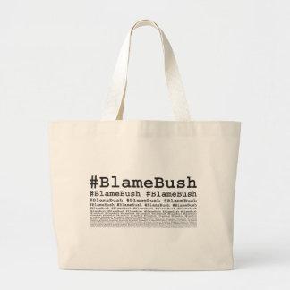 Schuld Bush Jumbo Stoffbeutel