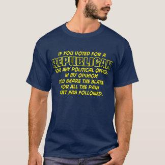 Schuld für die Schmerz T-Shirt
