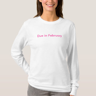Schuld im Februar T-Shirt