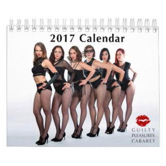 Schuldiger Kalender des Vergnügens-Kabarett-2017