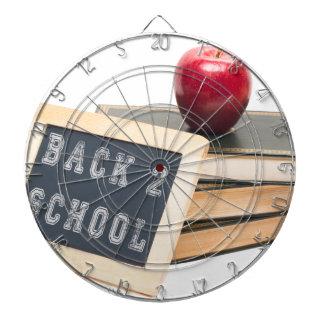 Schule der Rückseiten-2 Dartscheibe
