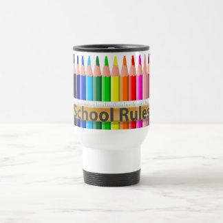 Schule ordnet Lehrer-Pendler-Schale an Reisebecher