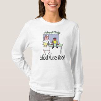 Schule pflegt Felsen-T - Shirt