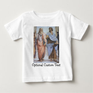 Schule von Athen (Detail - Plato u. Aristoteles) Baby T-shirt