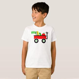 Schullastwagen für Jungen-ersten Tag zurück zu T-Shirt
