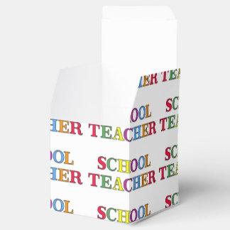 Schullehrer-Farben Geschenkschachtel