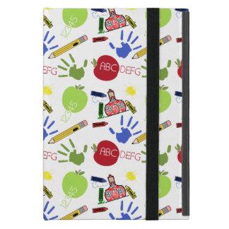 Schulmuster iPad Minifall mit Kickstand iPad Mini Schutzhüllen
