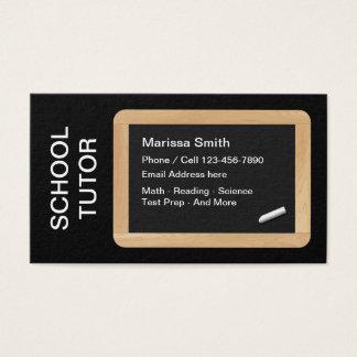 Schulprivatunterricht-Lehrer Visitenkarte